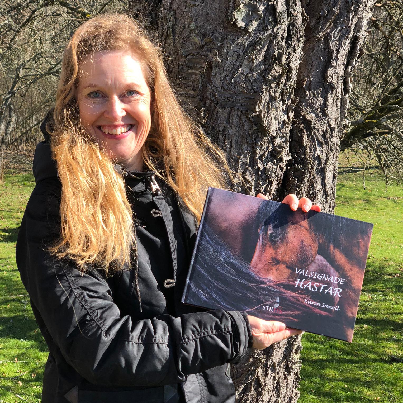 Välsignade hästar – ny bok av Karin Sanell